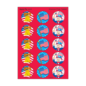 Trend Enterprises T-83431 Stinky Stickers American Pride Apple Pie, Price/EA