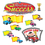 Trend Enterprises T-8343 Monkey Mischief Racing To Success Bb Set