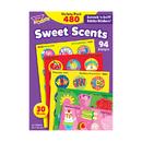 Trend Enterprises T-83901 Stinky Stickers Sweet Shapes 456/Pk Acid-Free Super Saver Pk