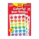 Trend Enterprises T-83904 Stinky Stickers Smiley Stars 432/Pk Variety Acid-Free Pk