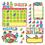 Trend Enterprises T-8416 Sock Monkeys Calendar