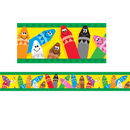 Trend Enterprises T-85041 Bolder Border Colorful Crayons