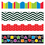 Trend Enterprises T-90824 Stripes & Shapes Border Variety - Pack