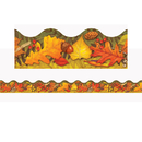 Trend Enterprises T-92337 Leaves Of Autumn Trimmers Scalloped Edge 12/Pk 2.25 X 39 Total