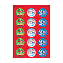Trend Enterprises T-932 Stinky Stickers Christmas 60/Pk Acid-Free Peppermint