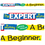 Trend Enterprises T-A25207 The Expert In Anything Was Once A - Beginner Banner