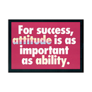 Trend Enterprises T-A62681 Poster For Success Attitude Is 13 X 19 Large