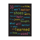 Trend Enterprises T-A62882 Poster 30 Years From Now 13 X 19 Large