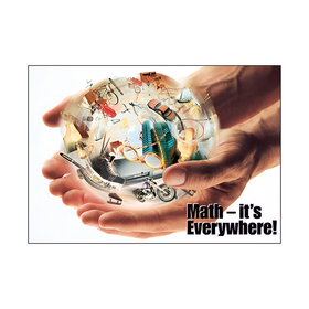 Trend Enterprises T-A63087 Poster Math - Its Everywhere, Price/EA