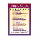 Trend Enterprises T-A63125 Poster Study Skills 13 X 19 Large