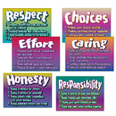 Trend Enterprises T-A6681 Poster Pk Character Traits 6/Pk 13 X 19