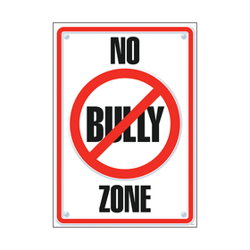 Trend Enterprises T-A67109 Poster No Bully Zone 13 X 19, Price/EA
