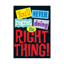 Trend Enterprises T-A67123 Poster Youll Never Regret Doing