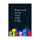 Trend Enterprises T-A67261 Kind Words Are The Music Lp Large Posters