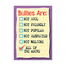 Trend Enterprises T-A67274 Poster Bullies Are Not Cool Not Friendly Argus