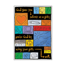 Trend Enterprises T-A67707 Poster Your Talents Are Gods Gifts To You How You Use Them Is Your G