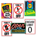 Trend Enterprises T-A67921 Learning Signs Combo Sets Argus Posters