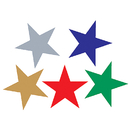 Teacher Created Resources TCR1275 Foil Stickers Assorted Stars