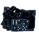 Teacher Created Resources TCR20601 Foam Dominoes Black