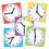 Teacher Created Resources TCR20640 Clocks Spinners Pack Of 5