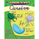 Teacher Created Resources TCR2770 Learning To Write Cursive Gr 2-3