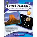 Teacher Created Resources TCR2914 Paired Passages Linking Fact To Fiction Gr 4