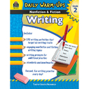 Teacher Created Resources TCR3975 Daily Warm Ups Gr 2 Nonfiction & Fiction Writing Book