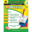 Teacher Created Resources TCR3977 Daily Warm Ups Gr 4 Nonfiction & Fiction Writing Book