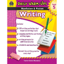 Teacher Created Resources TCR3978 Daily Warm Ups Gr 5 Nonfiction & Fiction Writing Book