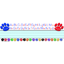 Teacher Created Resources TCR4040 Paw Prints Left/Right Alphabet Name Plates