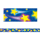 Teacher Created Resources TCR4081 Shooting Stars Straight Border Trim
