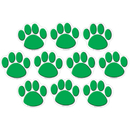 Teacher Created Resources TCR4387 Green Paw Print Accents 30 Pk