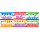 Teacher Created Resources TCR4481 Polka Dot Months Headliners