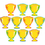 Teacher Created Resources TCR4569 Trophy Cups Accents 30/Pk