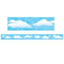 Teacher Created Resources TCR4574 Clouds Straight Border Trim