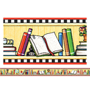 Teacher Created Resources TCR4603 Me We Love Books Straight Border Trim