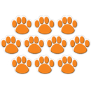 Teacher Created Resources TCR4649 Orange Paw Print Accents 30 Pk