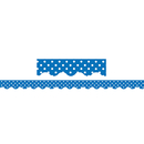 Teacher Created Resources TCR4666 Blue Mini Polka Dots Border Trim