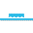Teacher Created Resources TCR4670 Aqua Mini Polka Dots Border Trim