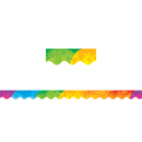 Teacher Created Resources TCR4675 Abstract Rainbow Border Trim