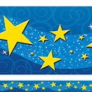 Teacher Created Resources TCR4696 Starry Night Straight Border Trim