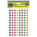 Teacher Created Resources TCR4742 Colorful Paw Prints Mini Stickers Value Pack