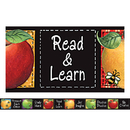 Teacher Created Resources TCR4748 Sw Colorful Apples Straight Border Trim