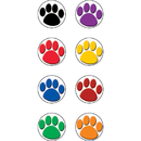 Teacher Created Resources TCR4819 Colorful Paw Prints Mini Stickers