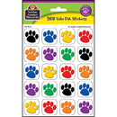 Teacher Created Resources TCR4973 Colorful Paw Print Stickers Value Pack
