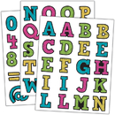 Teacher Created Resources TCR5017 Chalkboard Brights Alphabet Stickers