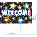Teacher Created Resources TCR5225 Fancy Stars Welcome Postcards