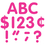 Teacher Created Resources TCR5386 Hot Pink Classic Font 4In Letters - Uppercase Pack