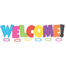 Teacher Created Resources TCR5524 Chevron Welcome Bulletin Board