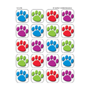 Teacher Created Resources TCR5746 Colorful Paw Prints 120 Stickers